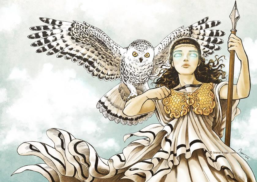 Sự tích con cú mà nữ thần Minerva nuôi