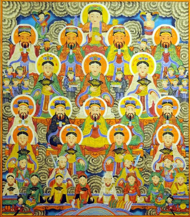Thống Phủ Tôn Ông trong tín ngưỡng thờ Mẫu Việt Nam