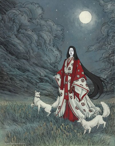 Đạo Hà Đại Thần Inari Okami