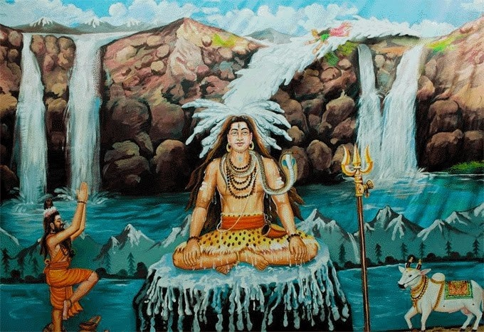 Thần Parvati ghen tuông và câu chuyện Ganga với Shiva