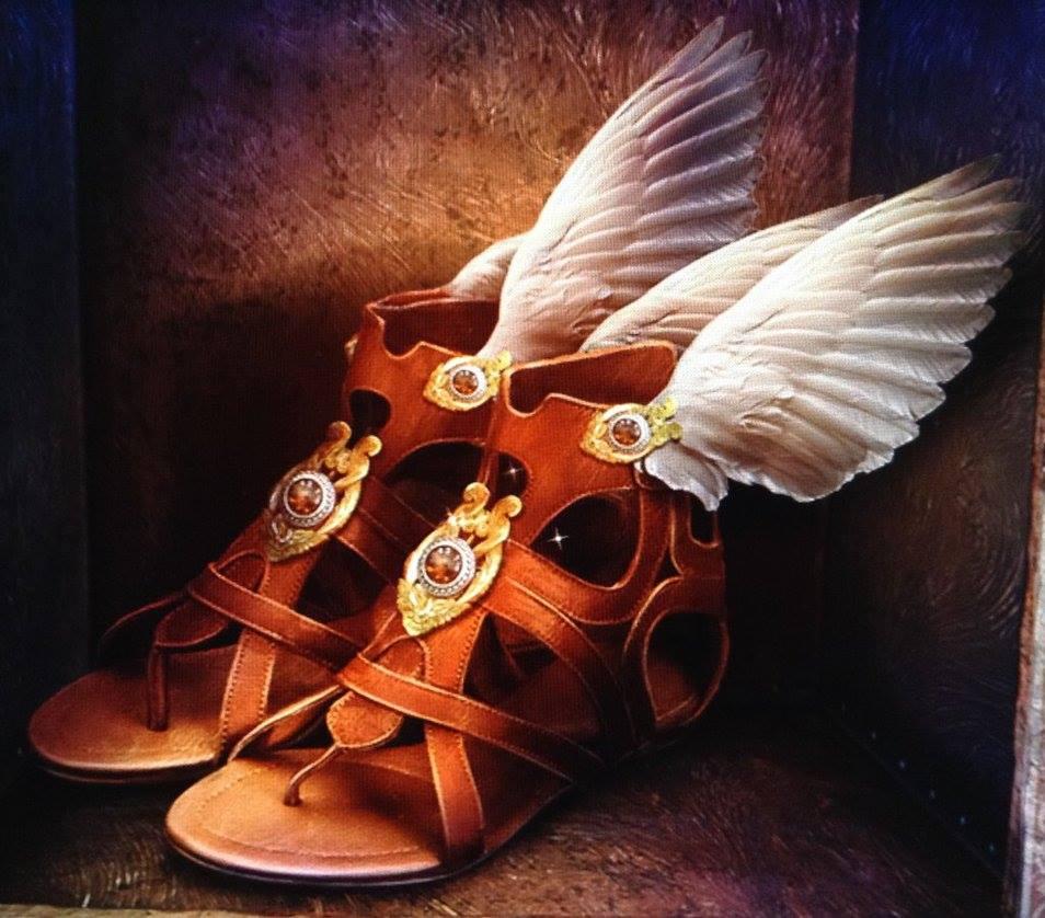 Talaria - đôi sandal có cánh của Hermes