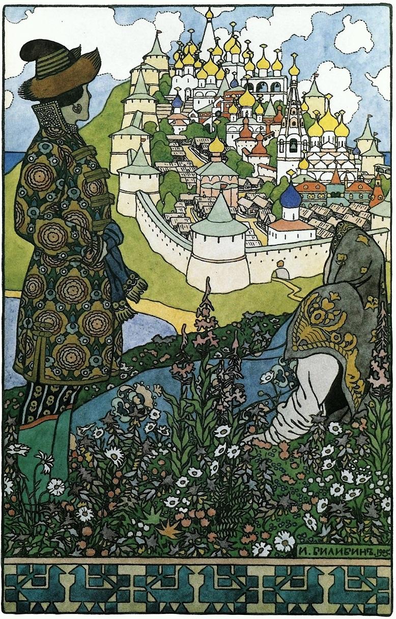 Hòn đảo bí ẩn Buyan của người Xla-vơ