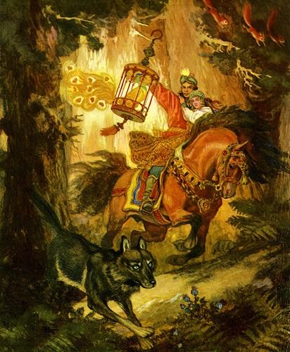 Chuyện chàng Ivan Tsarevich, phượng hoàng và con sói xám