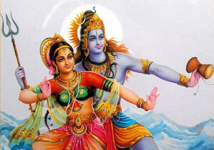 Mối tình của nàng Shakti và thần hủy diệt Shiva