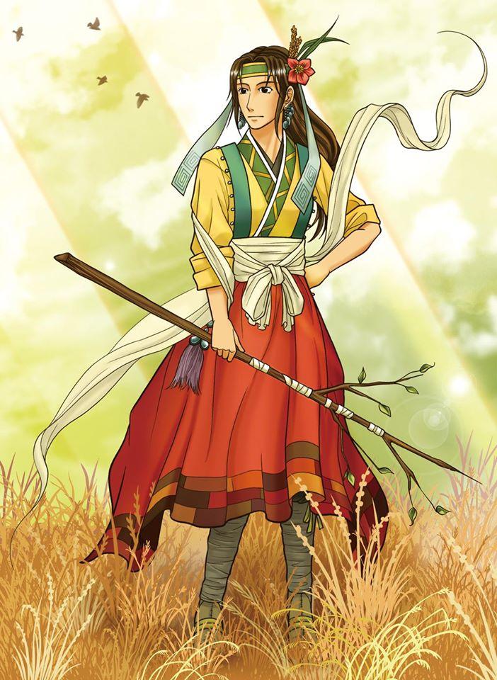 Nữ thần đất và tình yêu Jacheongbi