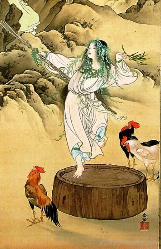 Nữ thần hoan lạc Ame no Uzume