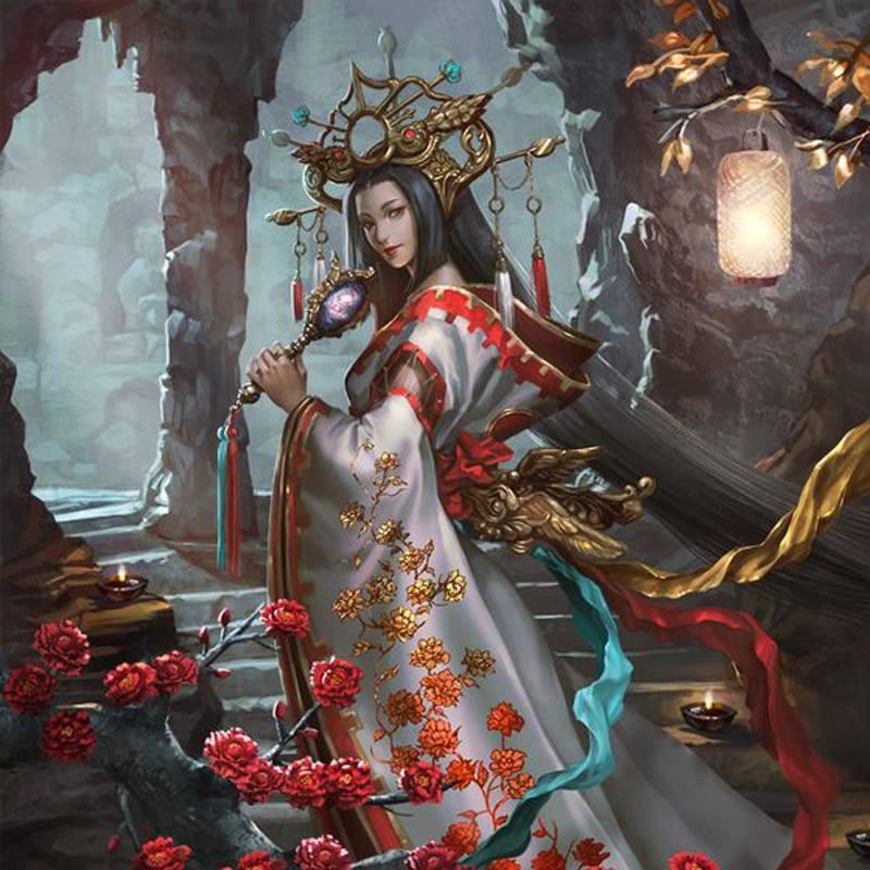 Nữ thần của núi Phú Sĩ Konohana Sakuya hay Mộc Hoa Khai Da Cơ