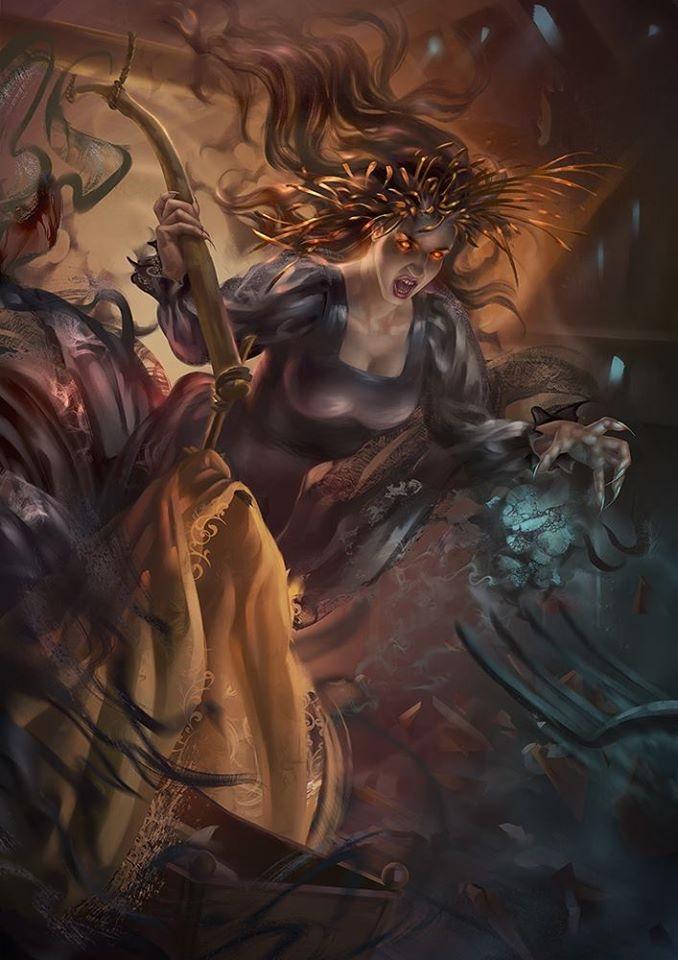 Phù thủy mang ác mộng đêm Nocnitsa