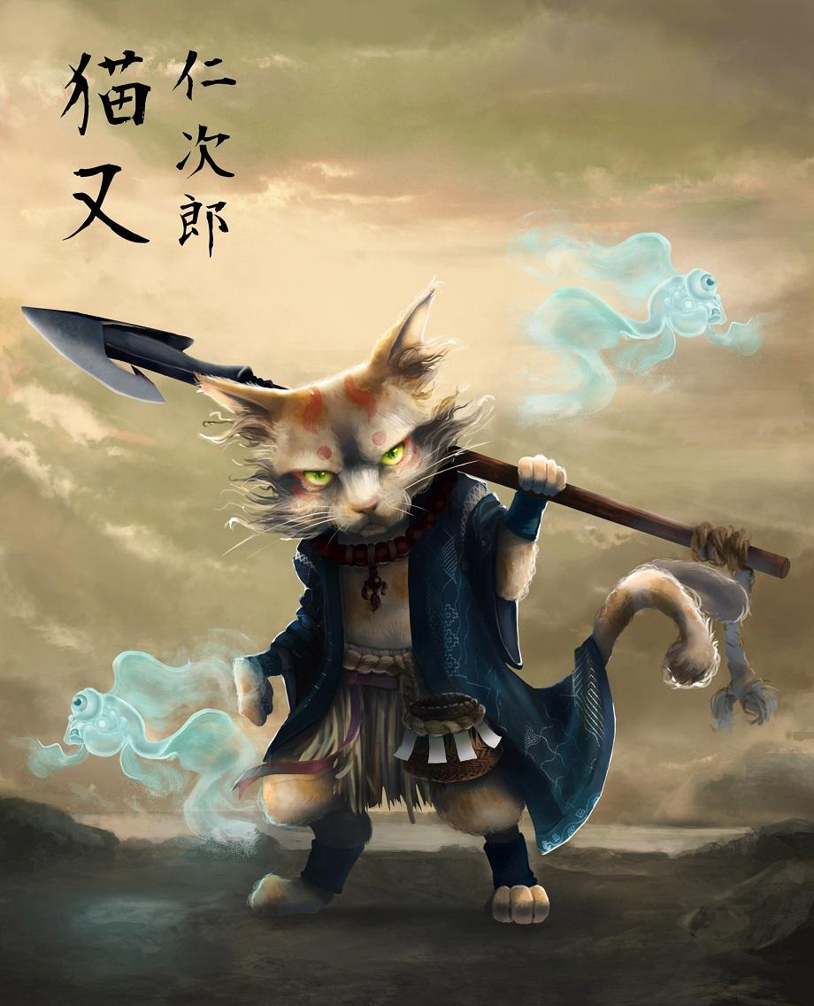 Yêu quái mèo Nekomata