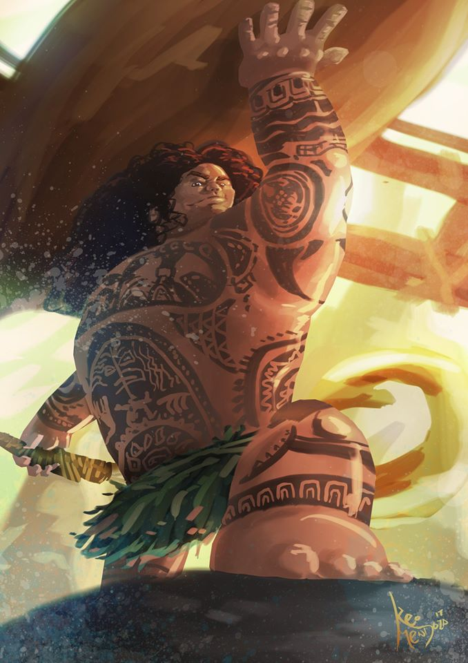 Á thần sức mạnh Maui