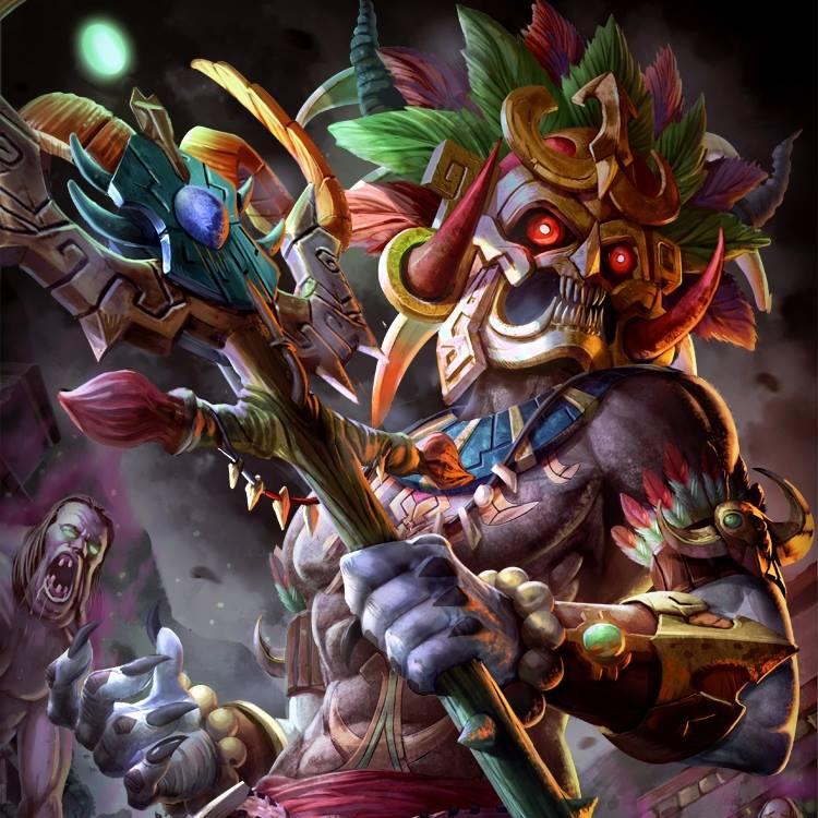 Thần chết Maya - Ah Puch