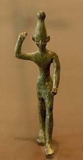 Thần sấm sét Baal ở Tây Semitic