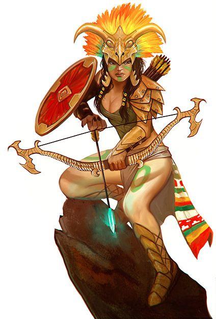 Chuyện thần thợ săn Mixcoatl và nữ thần Chimalma