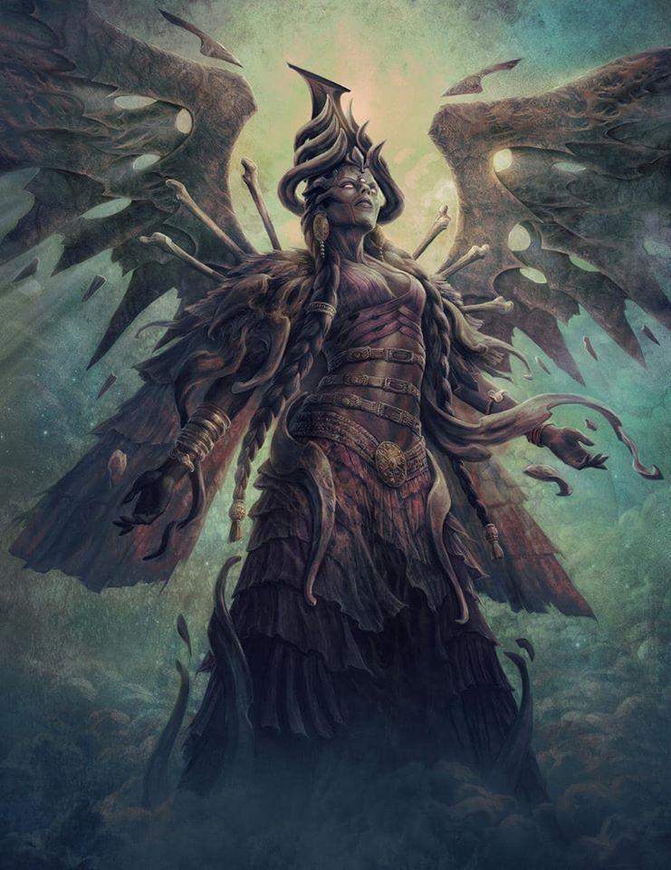Ereshkigal - nữ hoàng địa ngục Irkalla