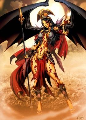 Nữ thần của sa mạc và nọc độc Malinalxochitl