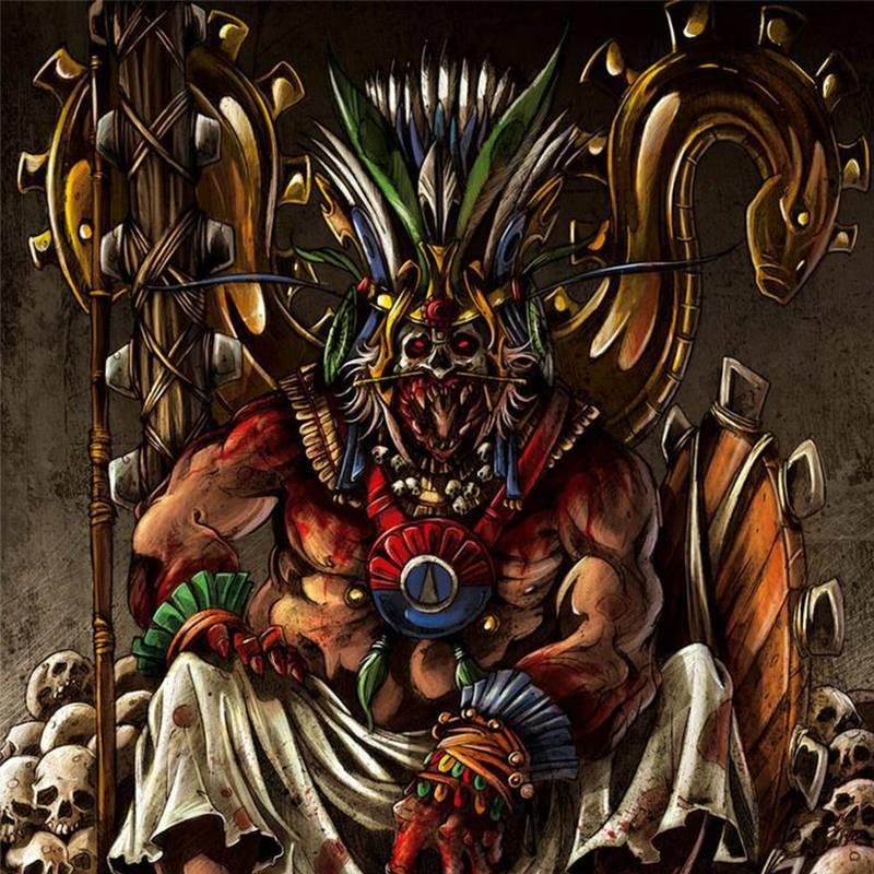 Thần Huitzilopochtli