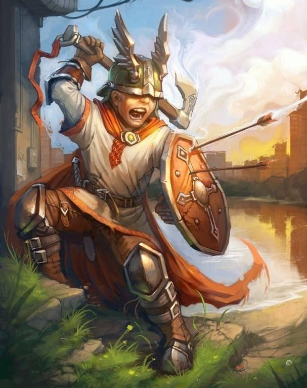 Thialfi nhóc hầu của Thor