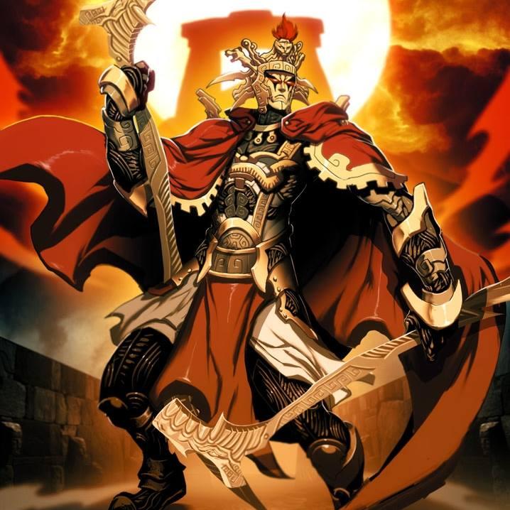 Viracocha - vị thần sáng thế của người Inca