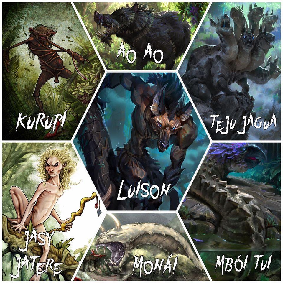 Bảy quái vật huyền thoại Guarani