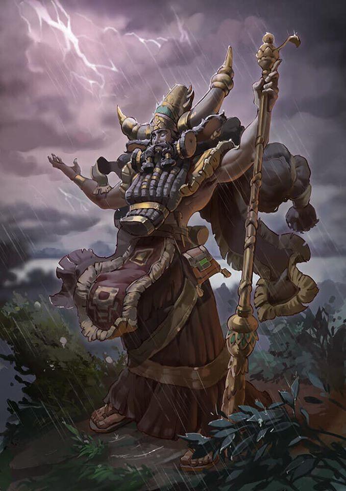 Chúa tể của bão Enlil - thần gió bão Lưỡng Hà tự cắm sừng chính mình