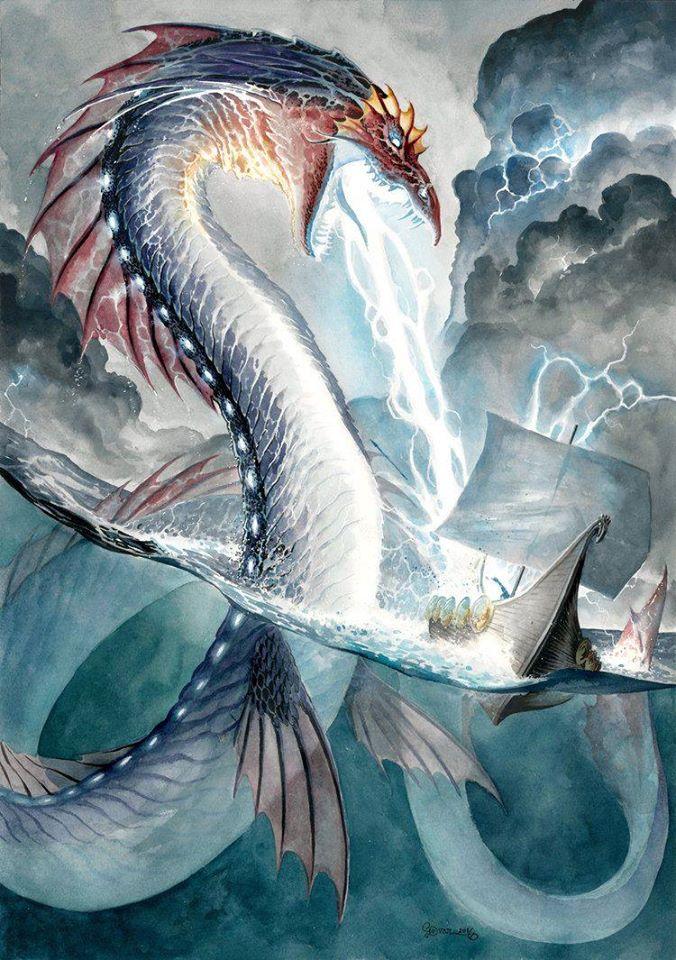 Cuộc chiến giữa thần bão tố Tarhunt (Teshub) và đại mãng xà Illyanka