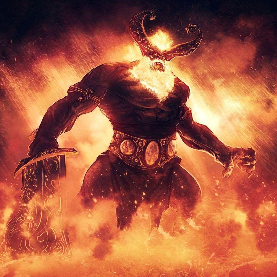 Gã khổng lồ lửa Surtr