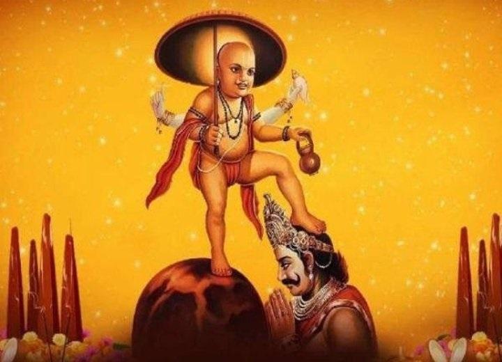 Khất sĩ lùn Brahmin tên là Vamana