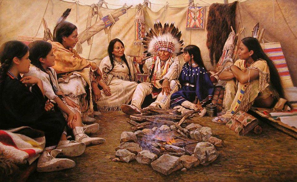 Nguồn gốc thế giới trong thần thoại của người da đỏ