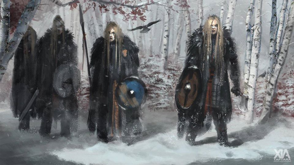 Những nữ chiến binh Shield-maiden