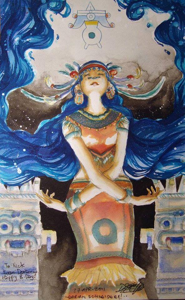 Nữ thần Chalchiuhtlicue