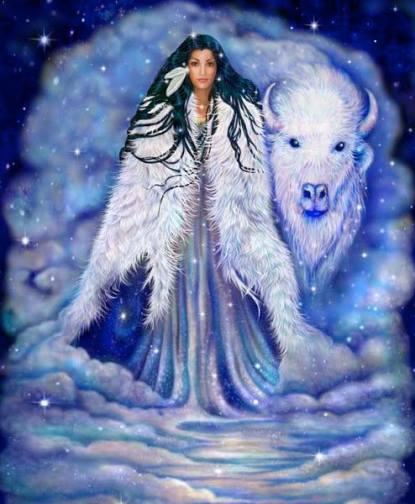 Nữ thần hòa bình và thiên nhiên Wohpe vùng Lakota