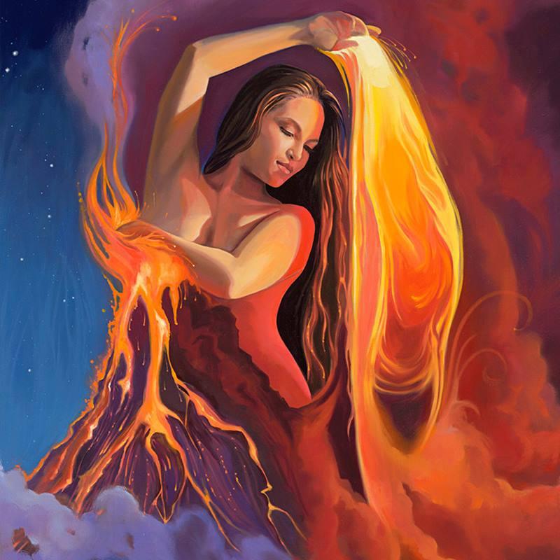 Nữ thần núi lửa Pele hay thần lửa của Hawai