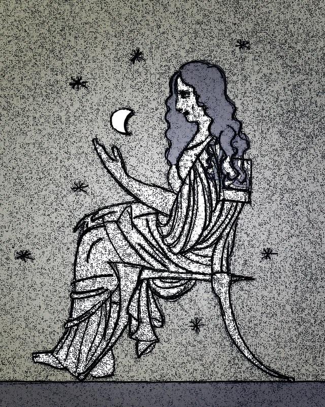 Aglaonice - nữ phù thủy điều khiển cả mặt trăng