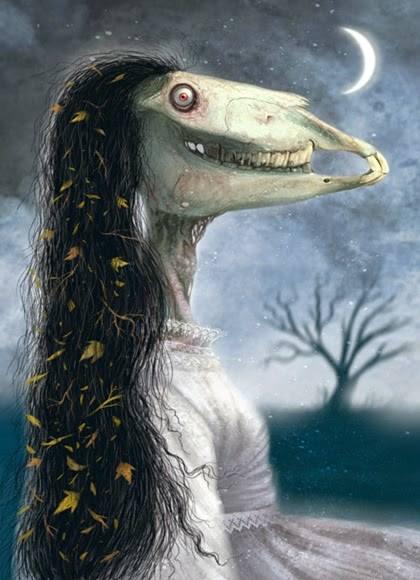 Truyền thuyết về nữ quái đầu ngựa La Cegua ở Trung Mỹ