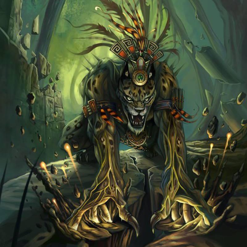 Thần bóng tối Tezcatlipoca