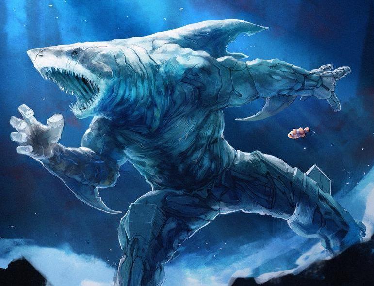 Chúa tể của loài cá mập Dakuwaqa trong thần thoại Fijian