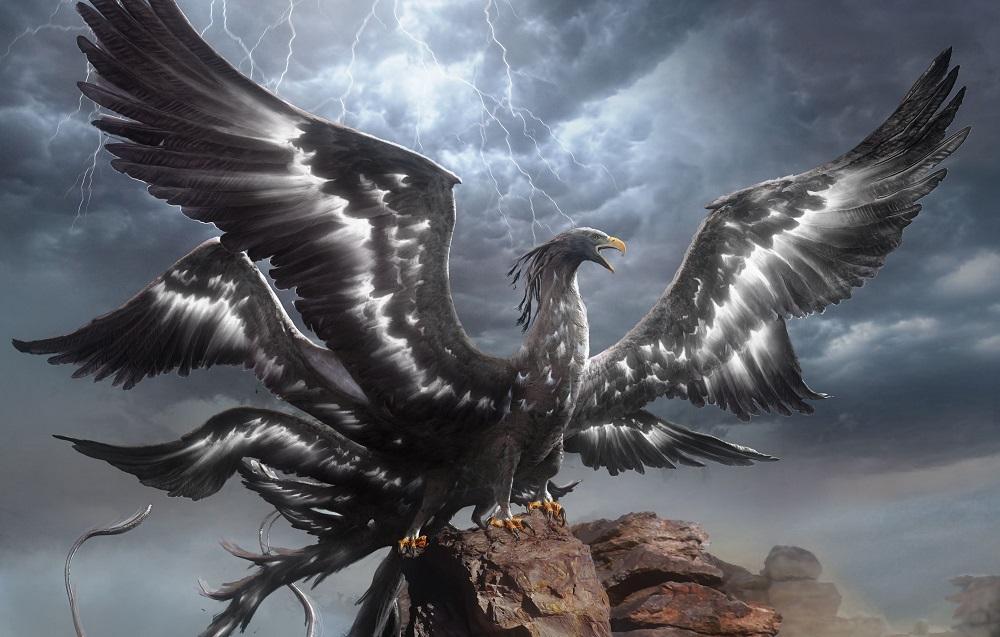 Loài chim huyền thoại Thunderbird - chịm sấm