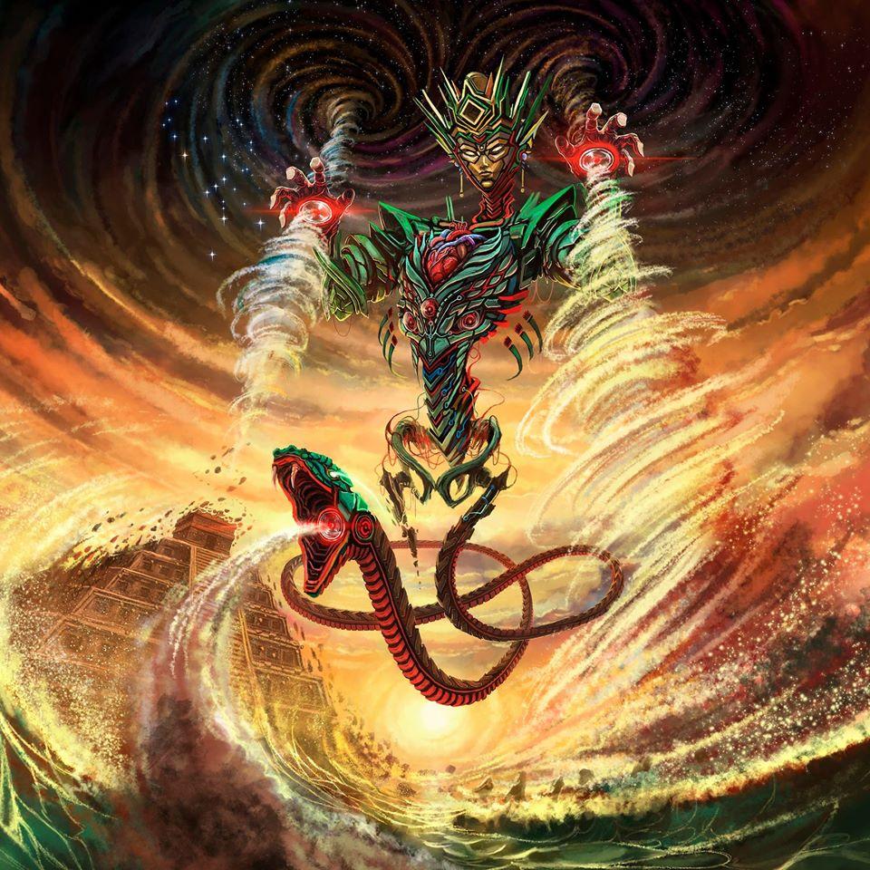 Thần gió Gucumatz và thần bão Hurakan