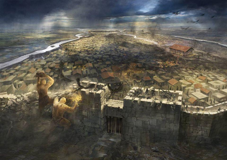 Nguồn gốc ra đời của thành Thebes bẩy cổng