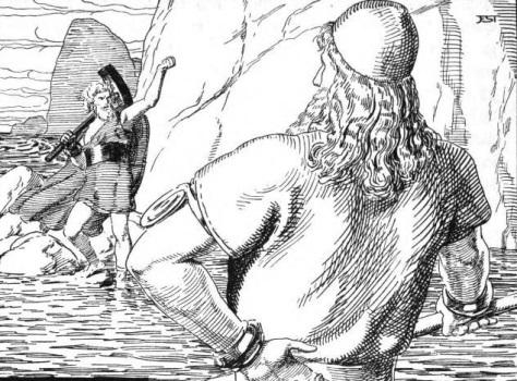 Câu chuyện Thor và người lái đò