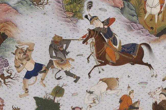Truyền thuyết vị vua hùng mạnh Tahmuras trong sử thi Shahnameh