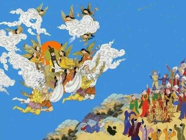 Vị vua kiệt xuất Yima trong sử thi Shahnameh