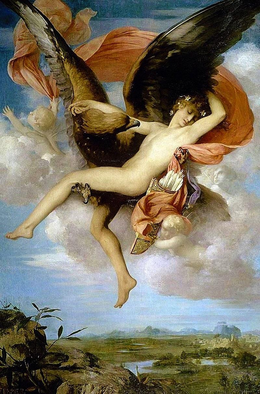 Ganymede - chàng hoàng tử đẹp nhất thế gian làm siêu lòng Zeus