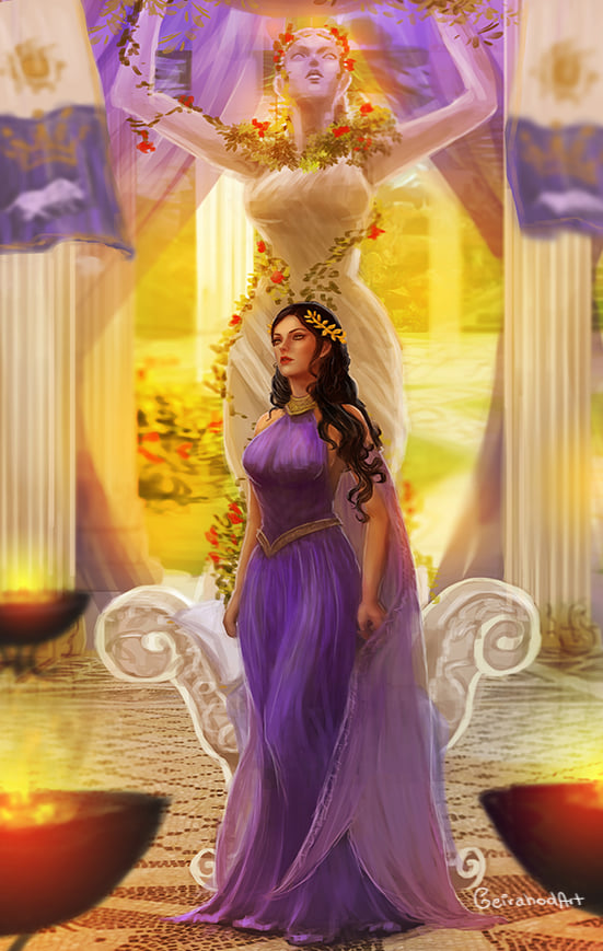 Pasiphae - Khi hoàng hậu dùng tà thuật giữ chồng và cái kết!