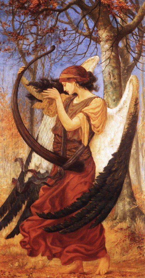 Nữ thần đại diện cho đức hạnh của con người Aedos