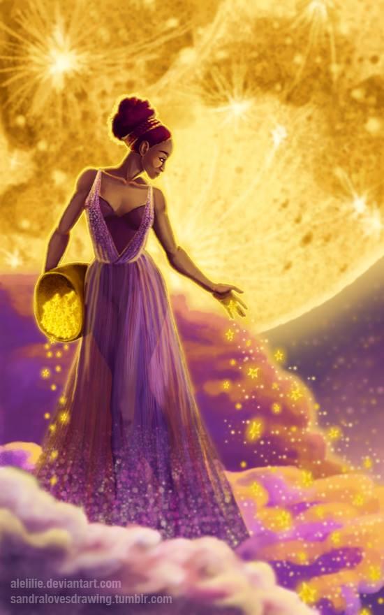 Nữ thần sao rơi Asteria