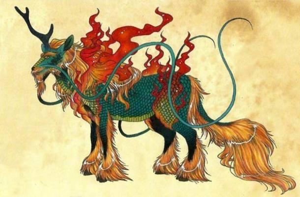 Qilin - 麒麟 hay con Kỳ Lân