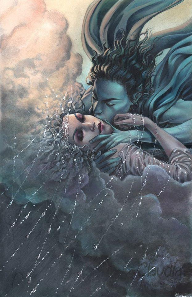 Câu chuyện tình của thần gió bắc Boreas và nàng Oreithyia