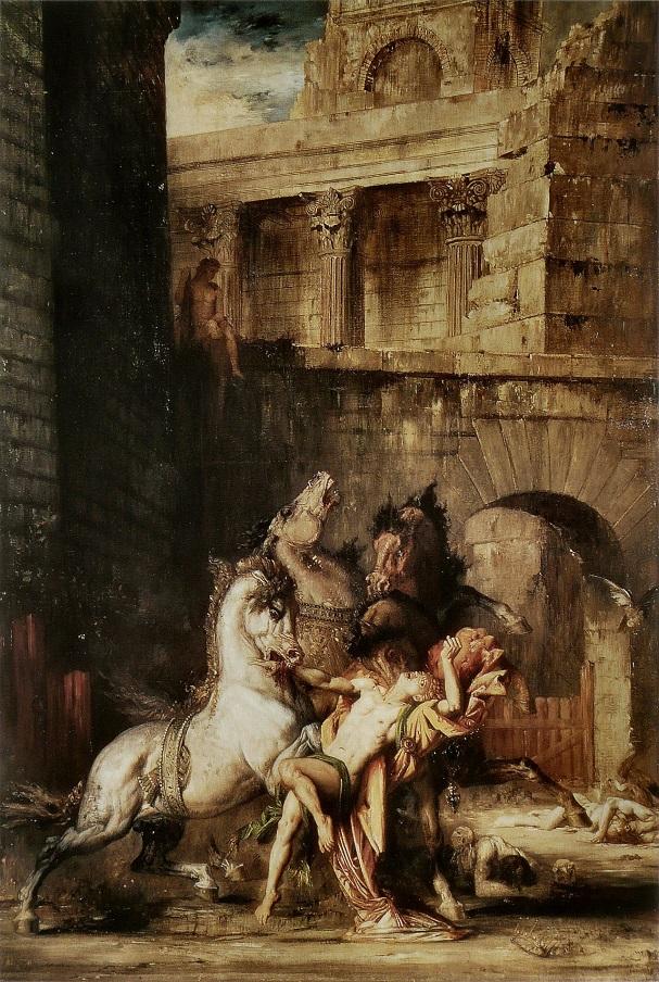 Glaucos và đàn ngựa hoang dại của mình