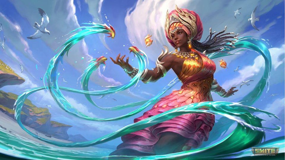Nữ thần mẹ, nữ thần sông nước của Yoruba